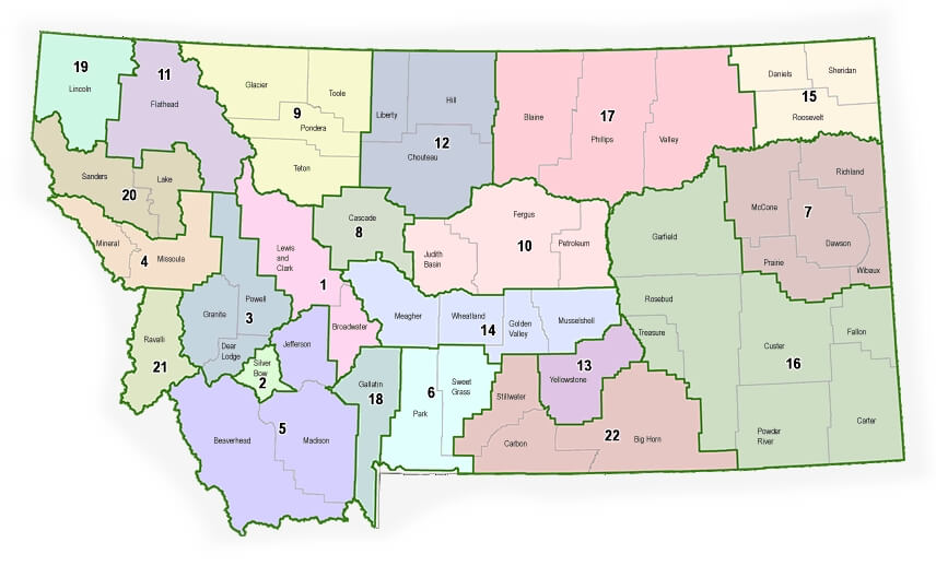 Montana District Courts
